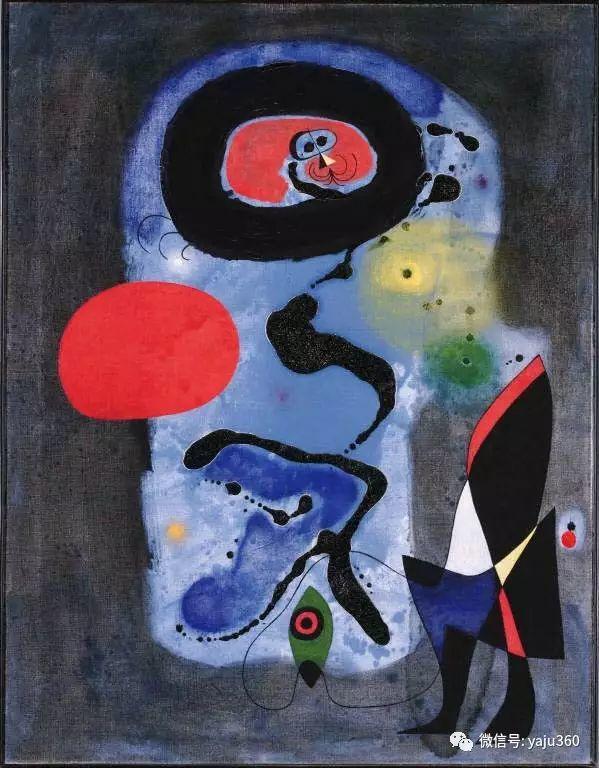 西班牙胡安·米罗(Joan Miró)油画作品插图105