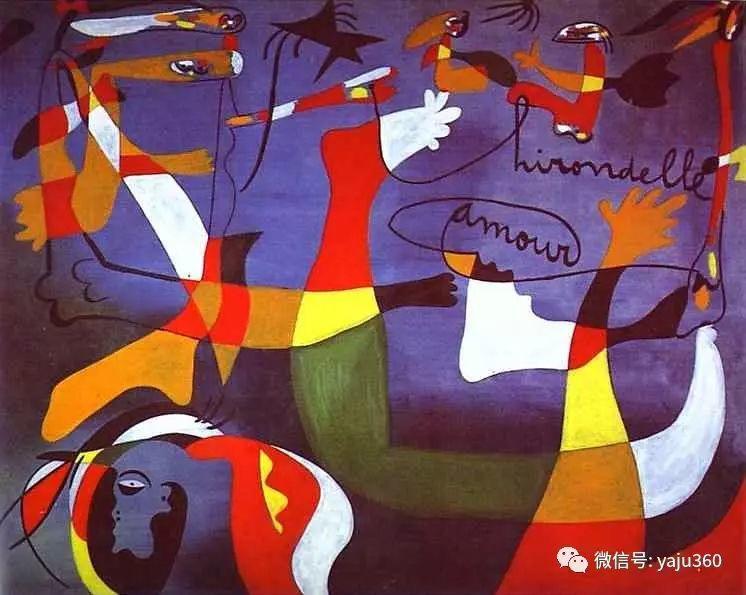 西班牙胡安·米罗(Joan Miró)油画作品插图109