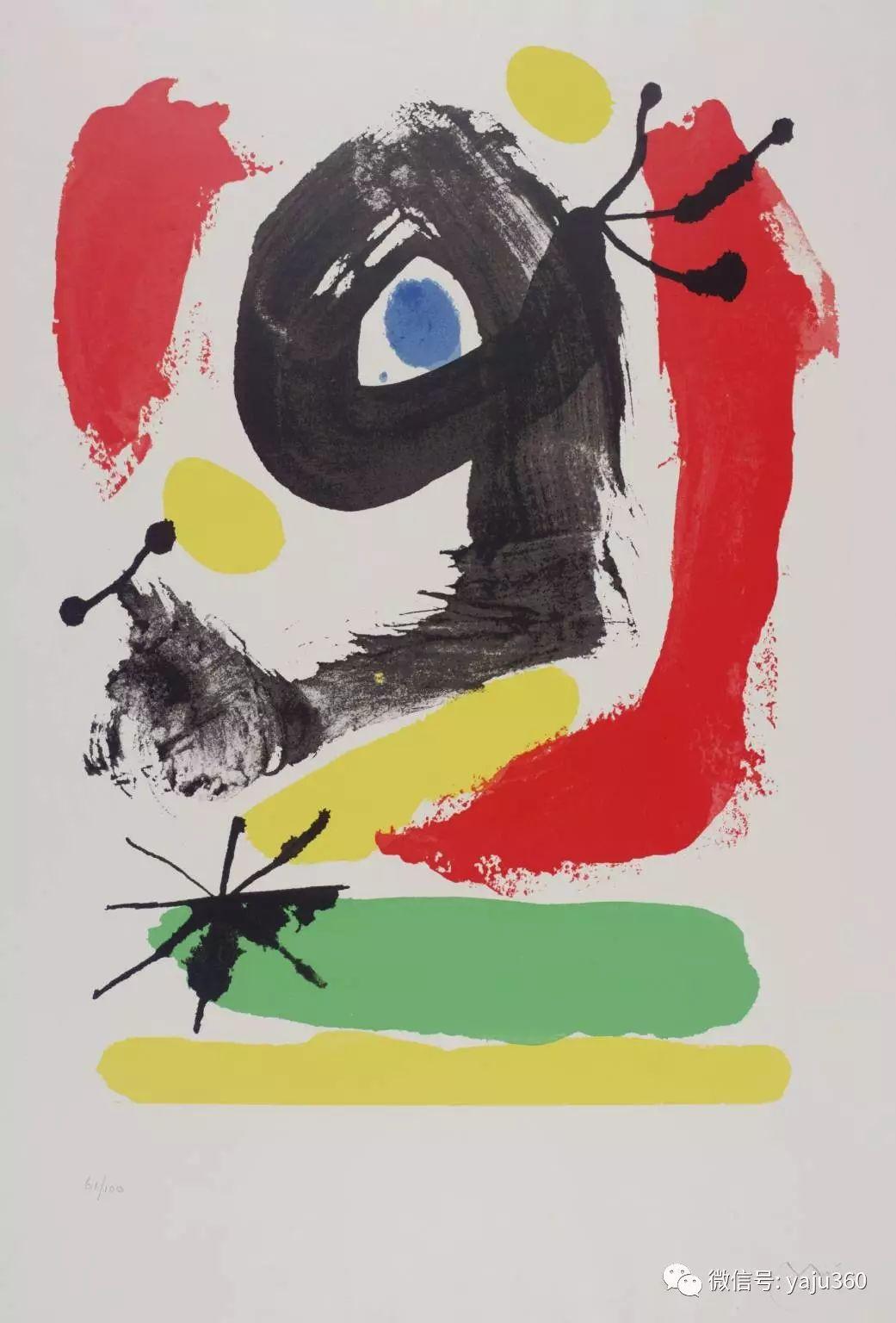 西班牙胡安·米罗(Joan Miró)油画作品插图111