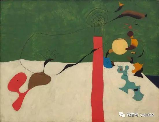 西班牙胡安·米罗(Joan Miró)油画作品插图117