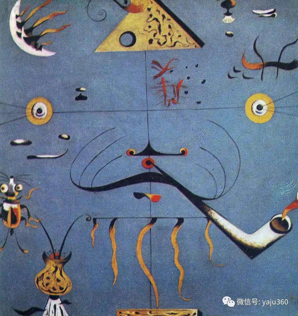 西班牙胡安·米罗(Joan Miró)油画作品插图121