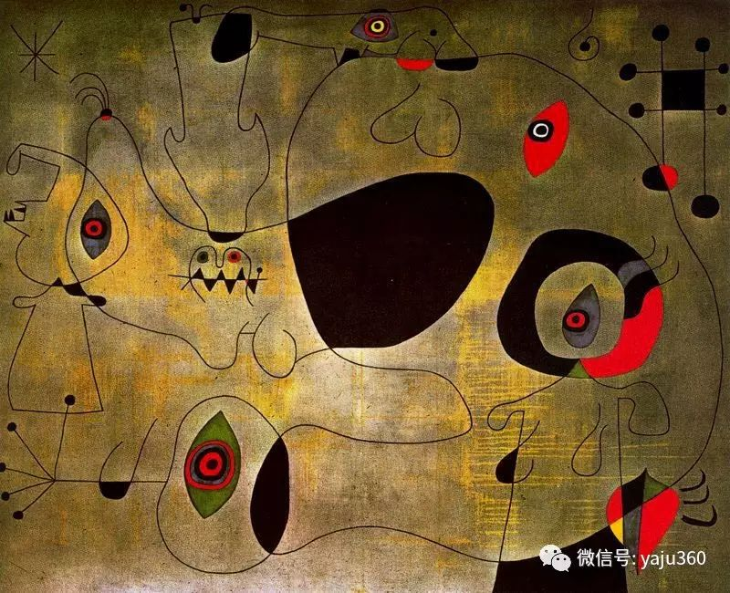 西班牙胡安·米罗(Joan Miró)油画作品插图125
