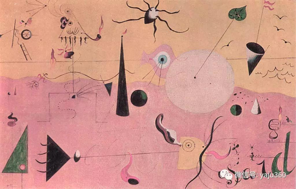 西班牙胡安·米罗(Joan Miró)油画作品插图131