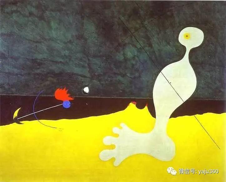西班牙胡安·米罗(Joan Miró)油画作品插图133