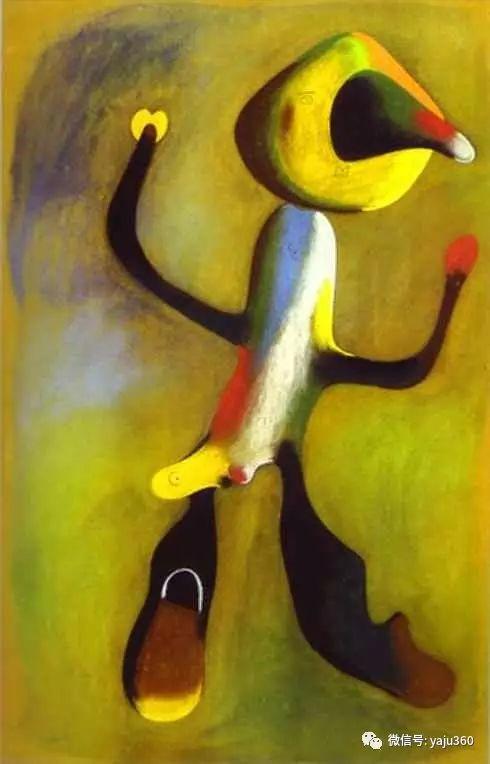 西班牙胡安·米罗(Joan Miró)油画作品插图135