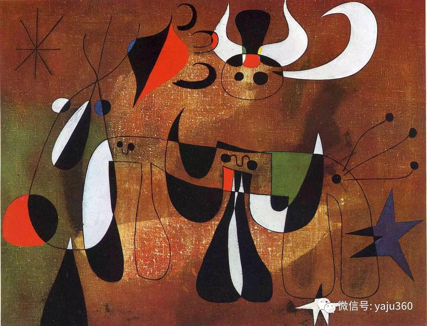西班牙胡安·米罗(Joan Miró)油画作品插图137