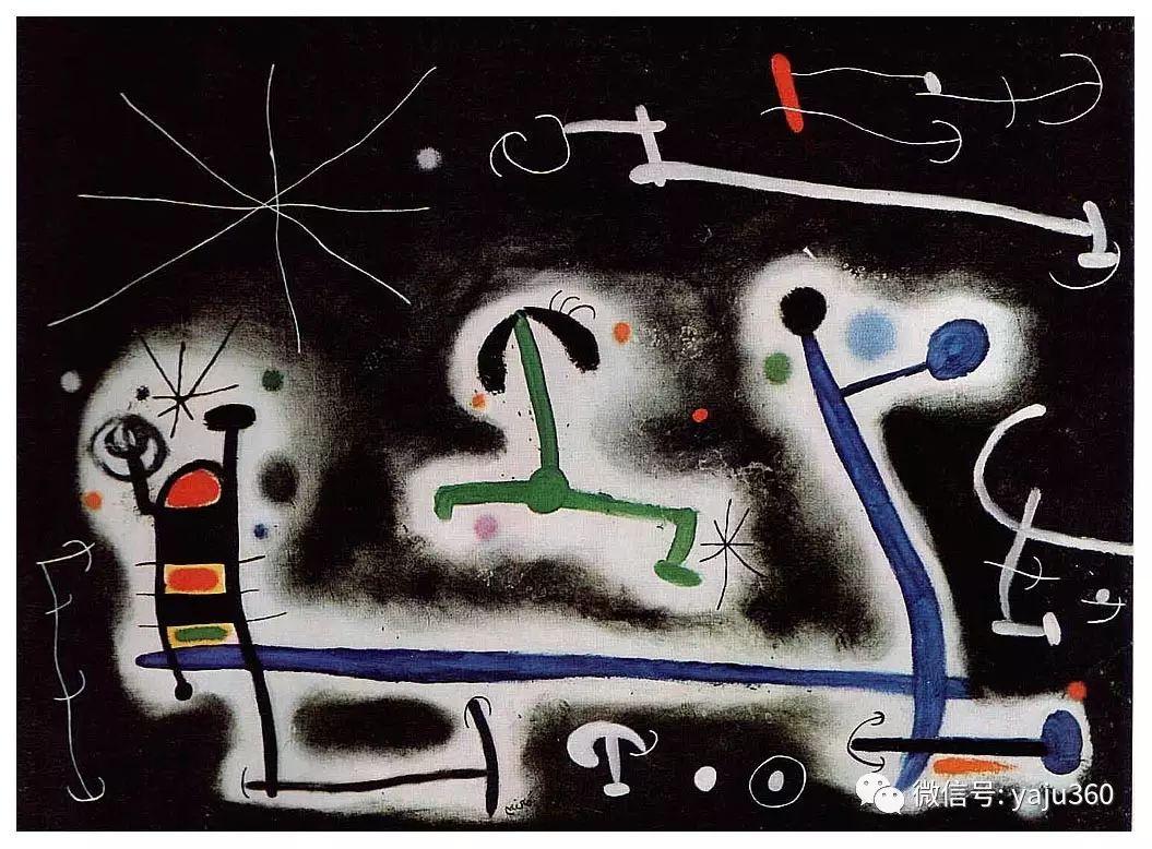西班牙胡安·米罗(Joan Miró)油画作品插图155