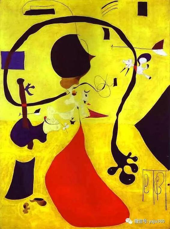 西班牙胡安·米罗(Joan Miró)油画作品插图157