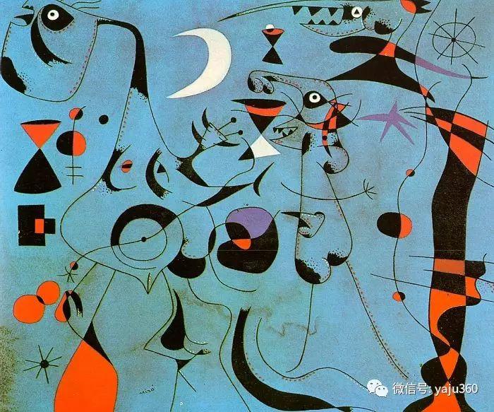 西班牙胡安·米罗(Joan Miró)油画作品插图161