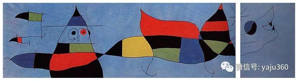 西班牙胡安·米罗(Joan Miró)油画作品插图171