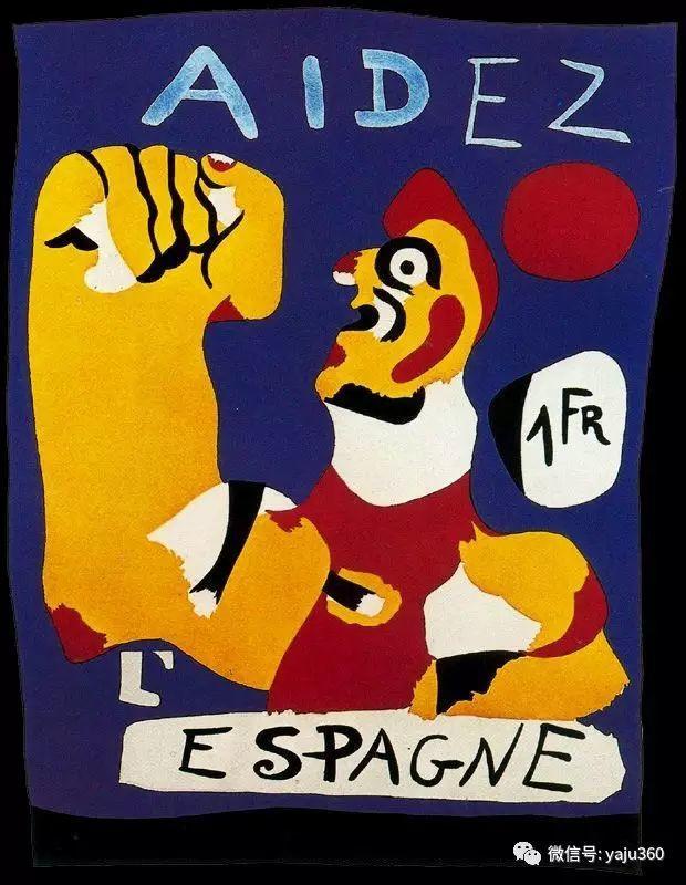 西班牙胡安·米罗(Joan Miró)油画作品插图173
