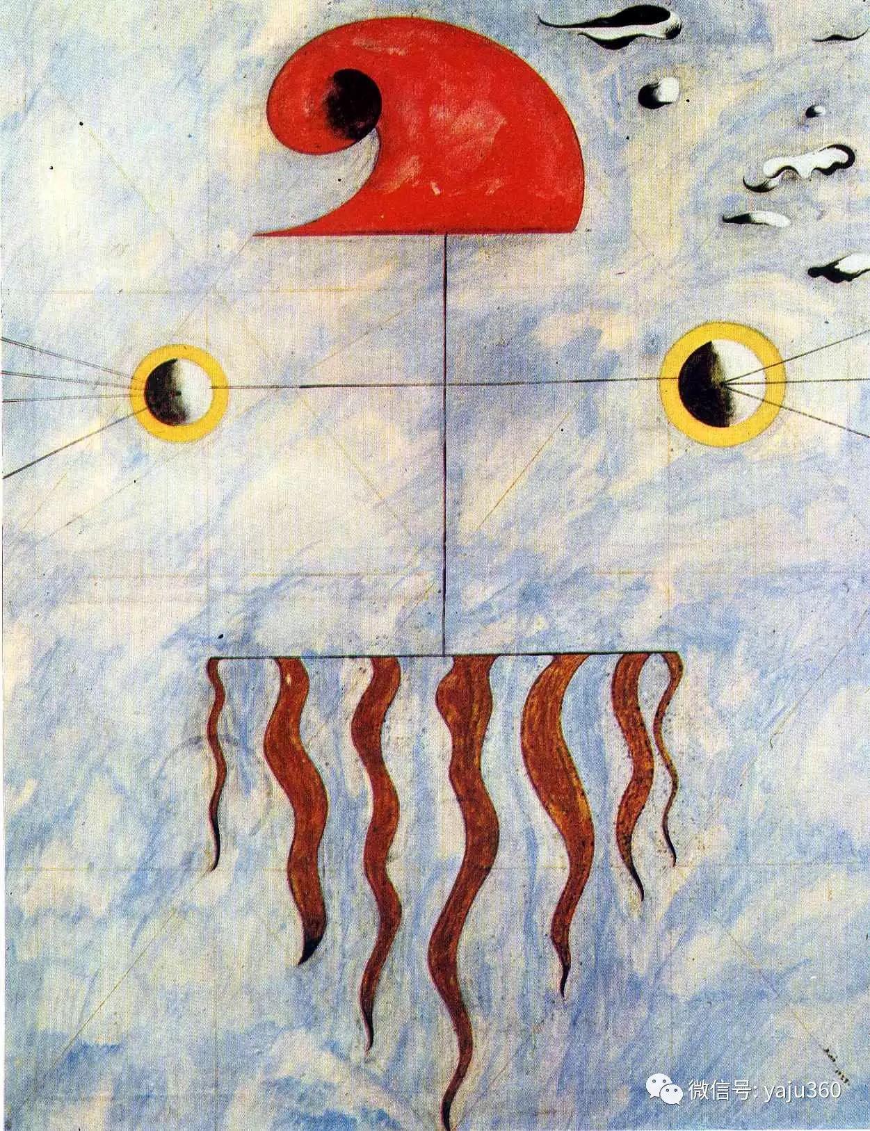 西班牙胡安·米罗(Joan Miró)油画作品插图175