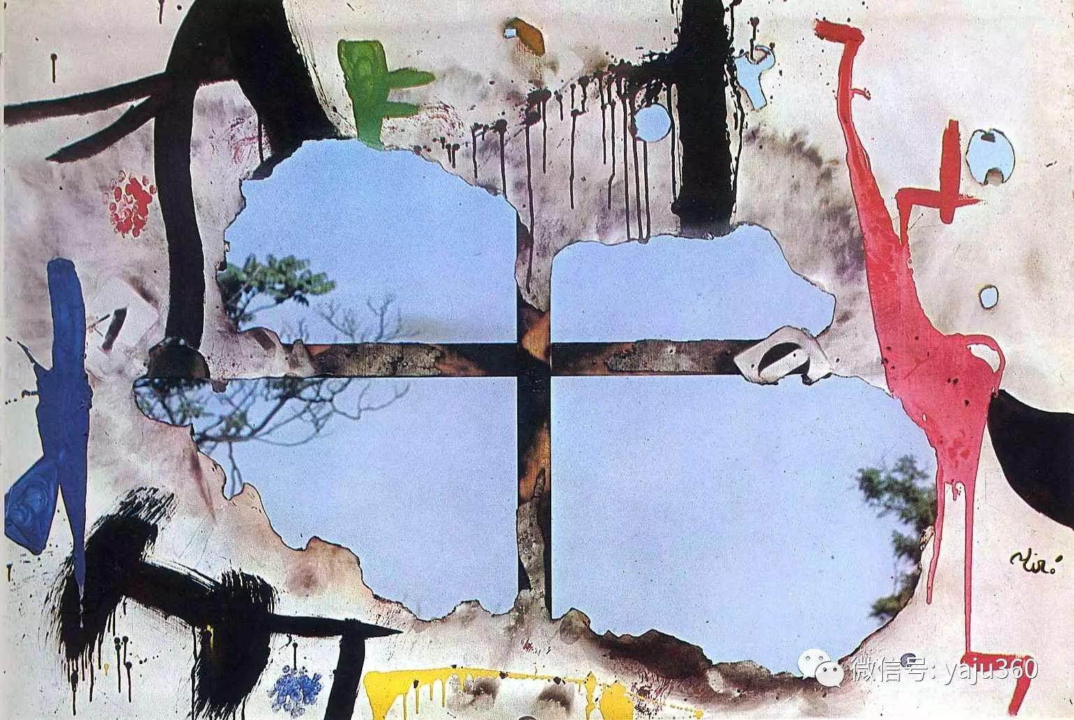 西班牙胡安·米罗(Joan Miró)油画作品插图177