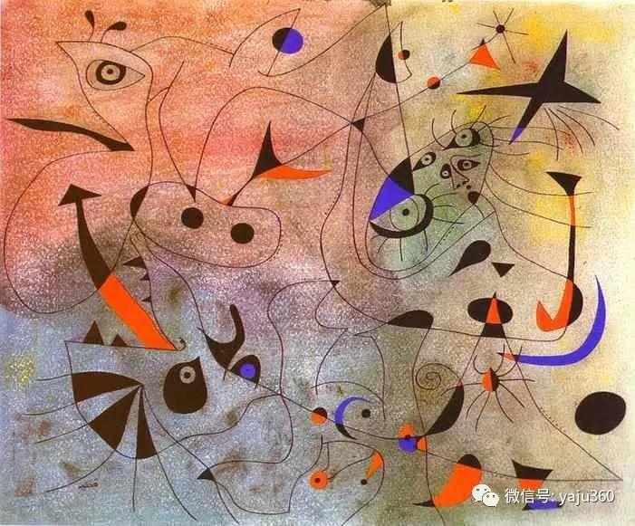 西班牙胡安·米罗(Joan Miró)油画作品插图179