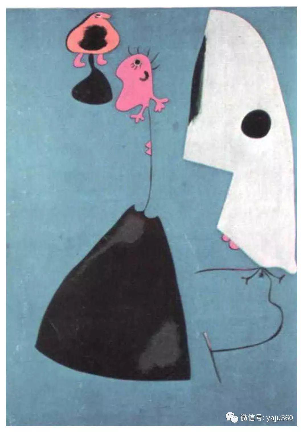 西班牙胡安·米罗(Joan Miró)油画作品插图181