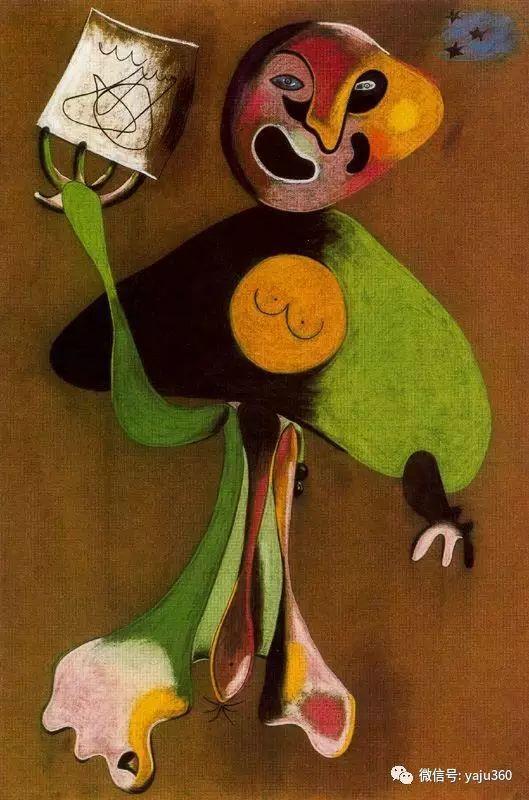 西班牙胡安·米罗(Joan Miró)油画作品插图189
