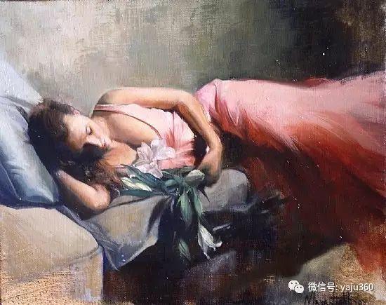 美国女画家Mara Light女性油画欣赏插图33
