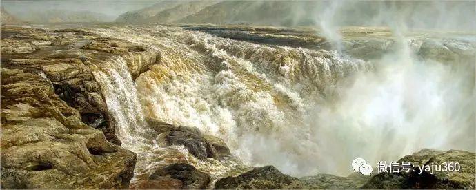 林建的黄河系列油画插图3
