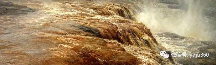 林建的黄河系列油画插图9