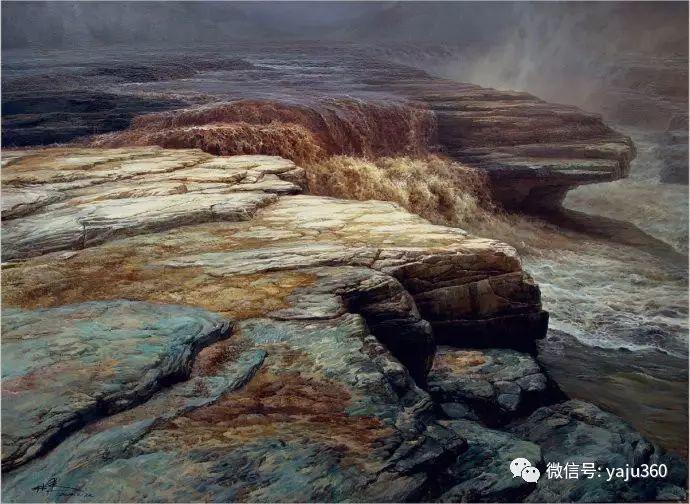 林建的黄河系列油画插图19
