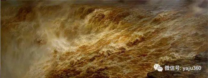 林建的黄河系列油画插图21