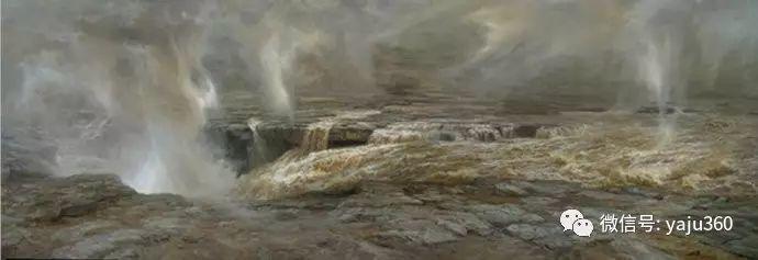 林建的黄河系列油画插图27