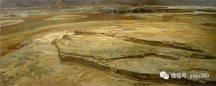 林建的黄河系列油画插图29