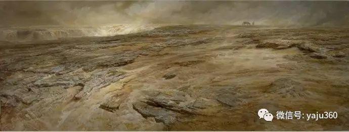 林建的黄河系列油画插图31
