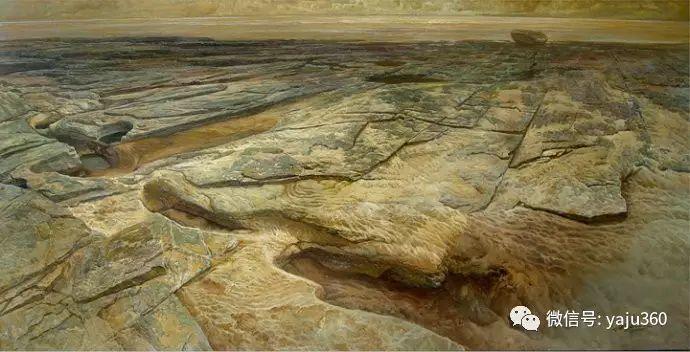 林建的黄河系列油画插图35