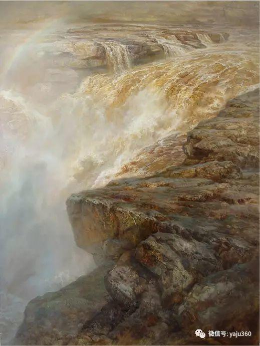 林建的黄河系列油画插图39