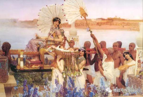 英国画家Lawrence Alma Tadema油画作品插图1