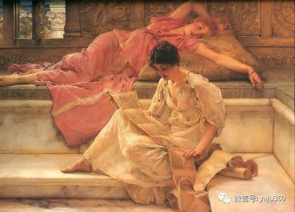 英国画家Lawrence Alma Tadema油画作品插图3
