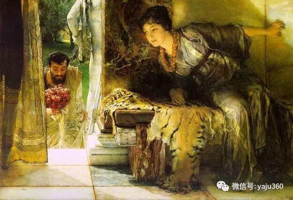 英国画家Lawrence Alma Tadema油画作品插图5