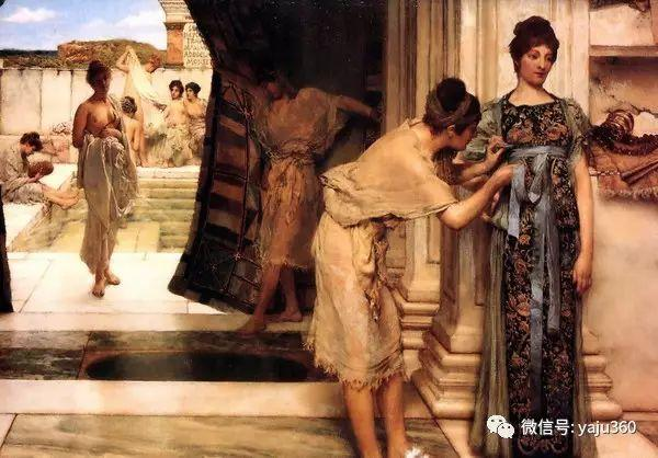 英国画家Lawrence Alma Tadema油画作品插图7