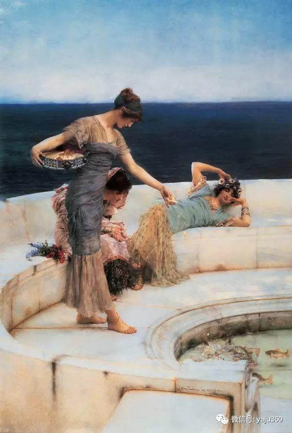 英国画家Lawrence Alma Tadema油画作品插图13