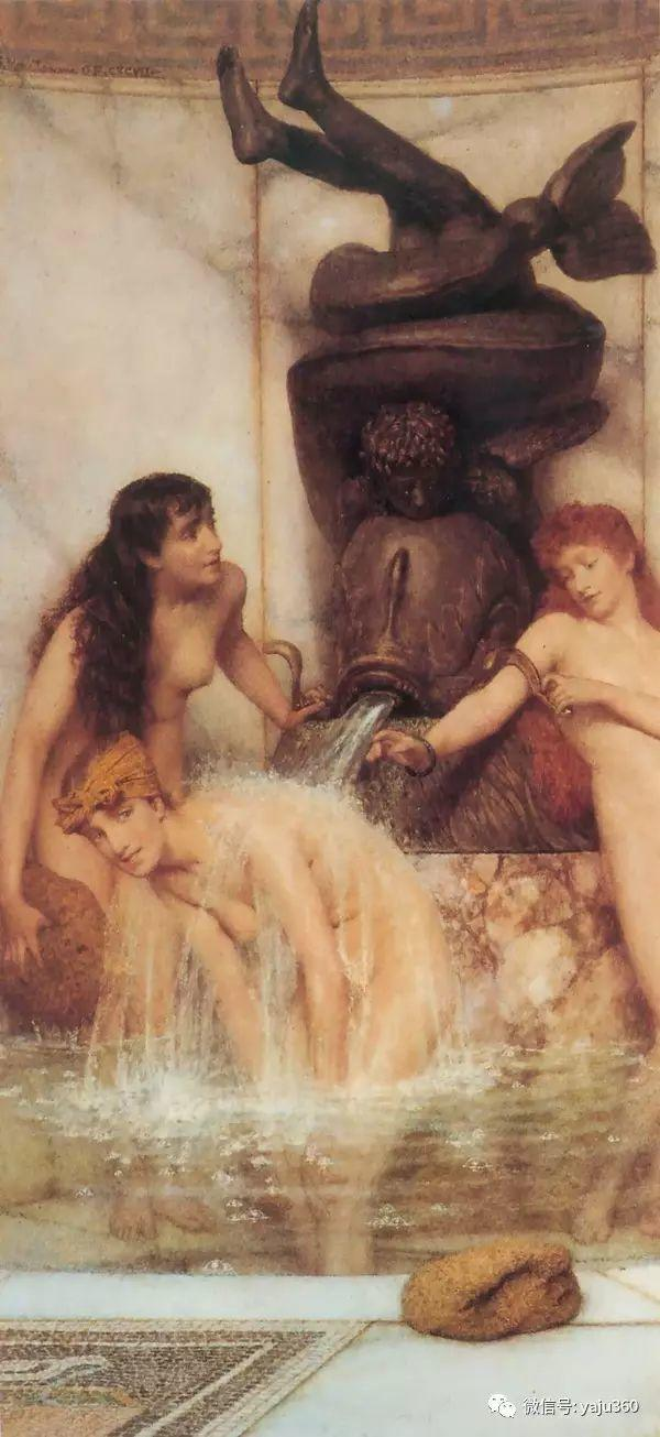 英国画家Lawrence Alma Tadema油画作品插图15