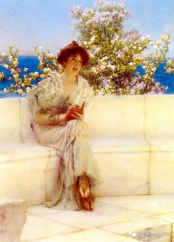 英国画家Lawrence Alma Tadema油画作品插图23