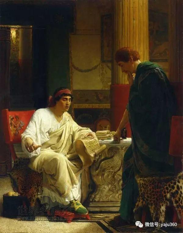 英国画家Lawrence Alma Tadema油画作品插图25