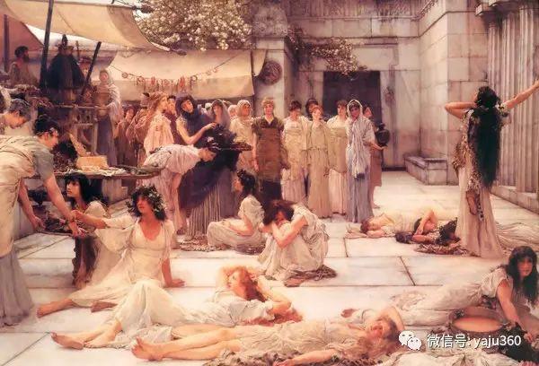 英国画家Lawrence Alma Tadema油画作品插图27