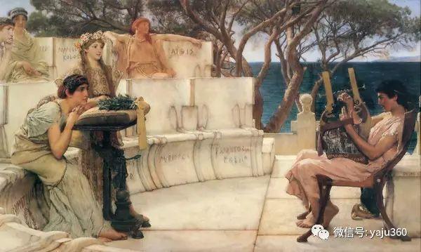 英国画家Lawrence Alma Tadema油画作品插图33