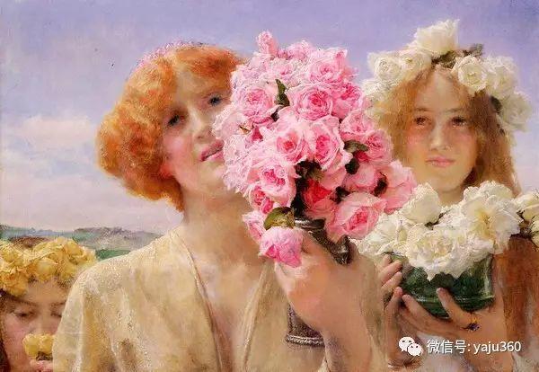 英国画家Lawrence Alma Tadema油画作品插图35