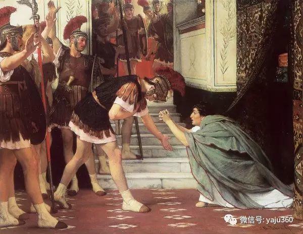 英国画家Lawrence Alma Tadema油画作品插图39
