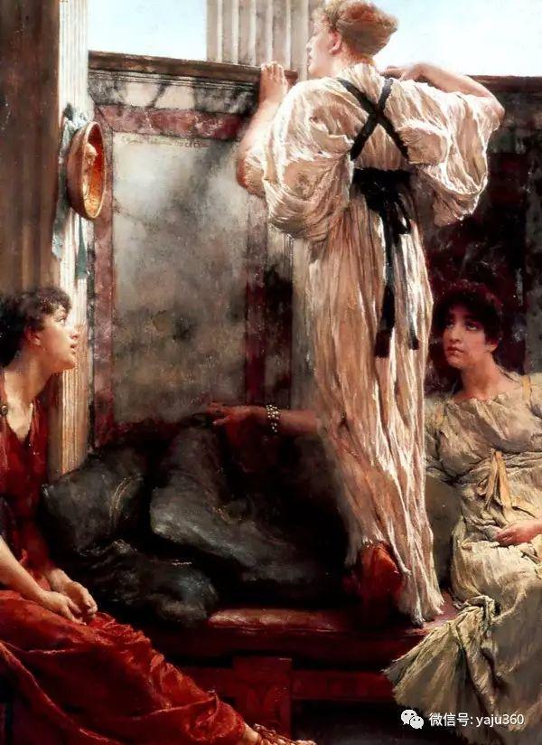 英国画家Lawrence Alma Tadema油画作品插图41