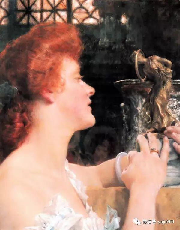 英国画家Lawrence Alma Tadema油画作品插图47