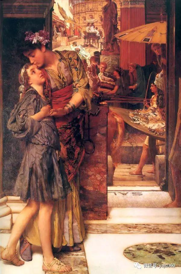 英国画家Lawrence Alma Tadema油画作品插图49