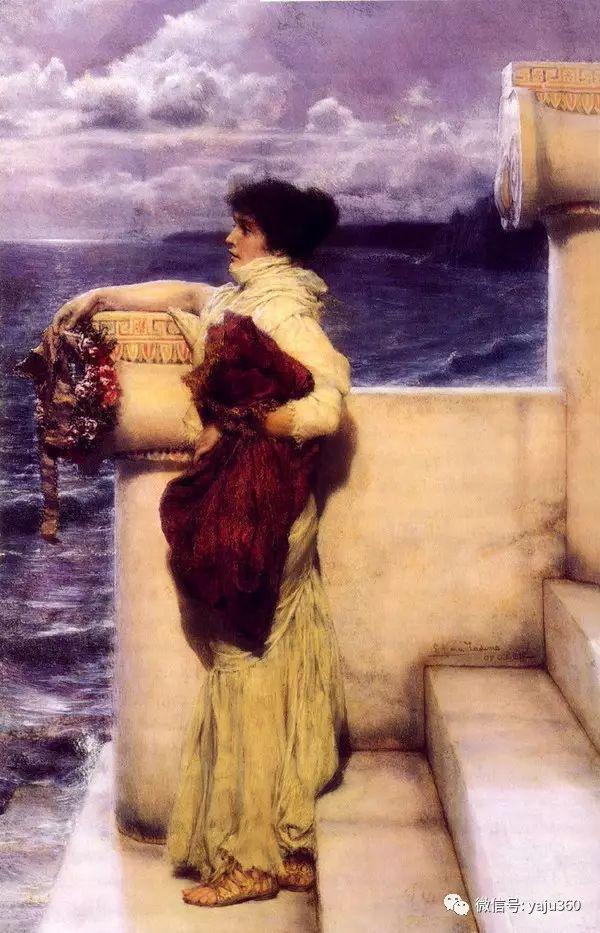 英国画家Lawrence Alma Tadema油画作品插图53