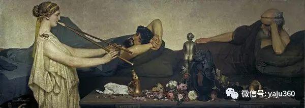 英国画家Lawrence Alma Tadema油画作品插图57