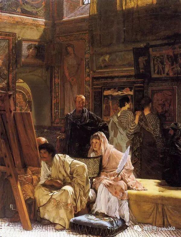 英国画家Lawrence Alma Tadema油画作品插图65