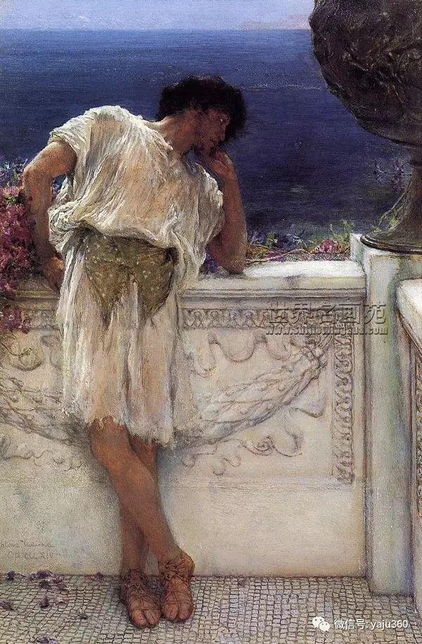 英国画家Lawrence Alma Tadema油画作品插图67