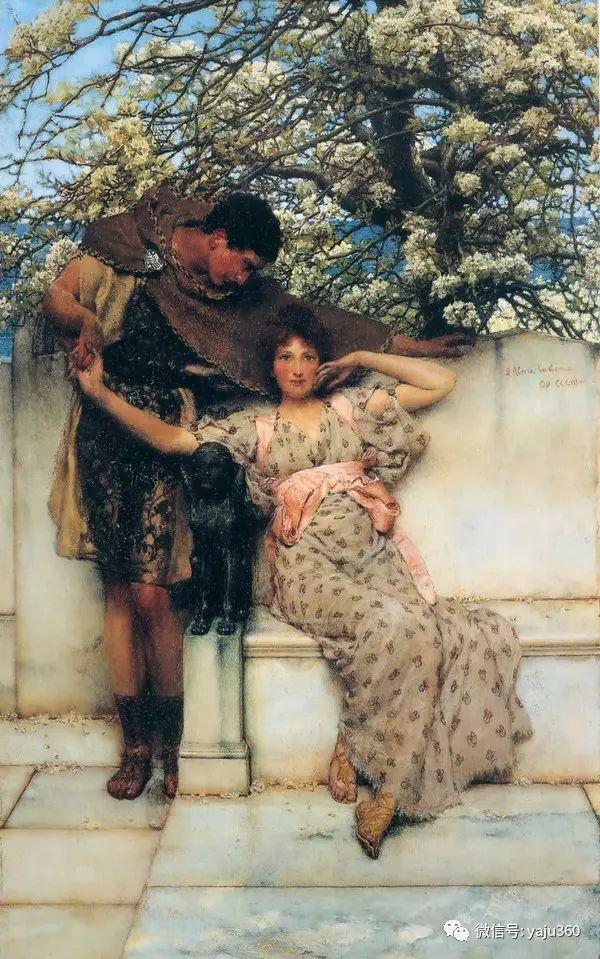 英国画家Lawrence Alma Tadema油画作品插图71